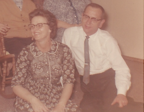 My great-grandparents in 1962
