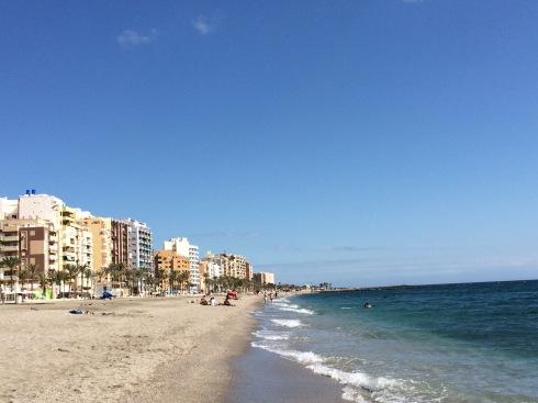 Casual living near the Mediterranean.