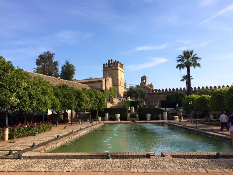 Gardens at the Alcázar de los Reyes Cristianos