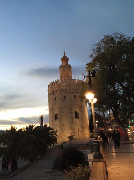 torre de oro seville sevilla spain
