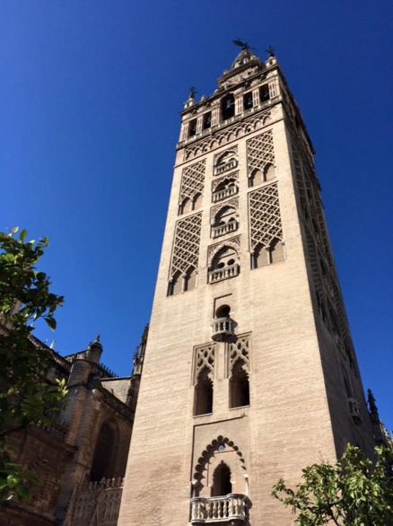 giralda cathedral seville sevilla spain