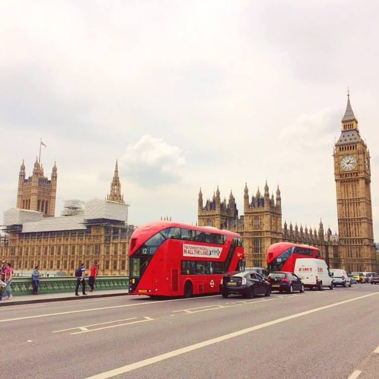 london big ben buses