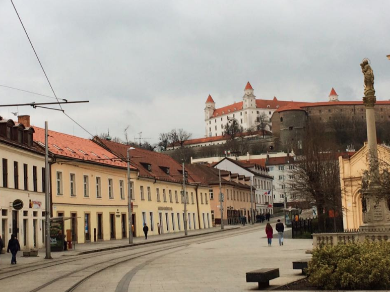 Bratislava, Slovakia, March 2016.