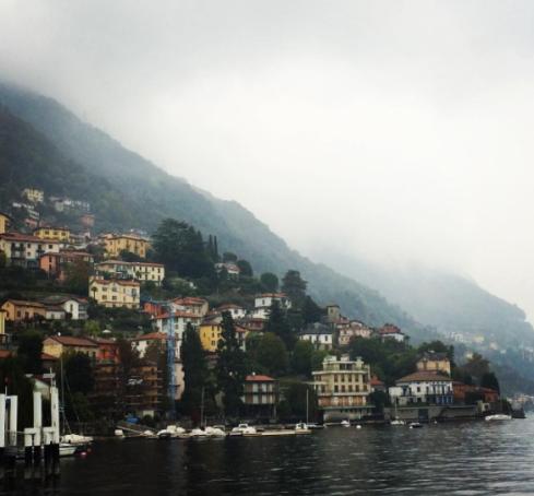 Visiting Lake Como