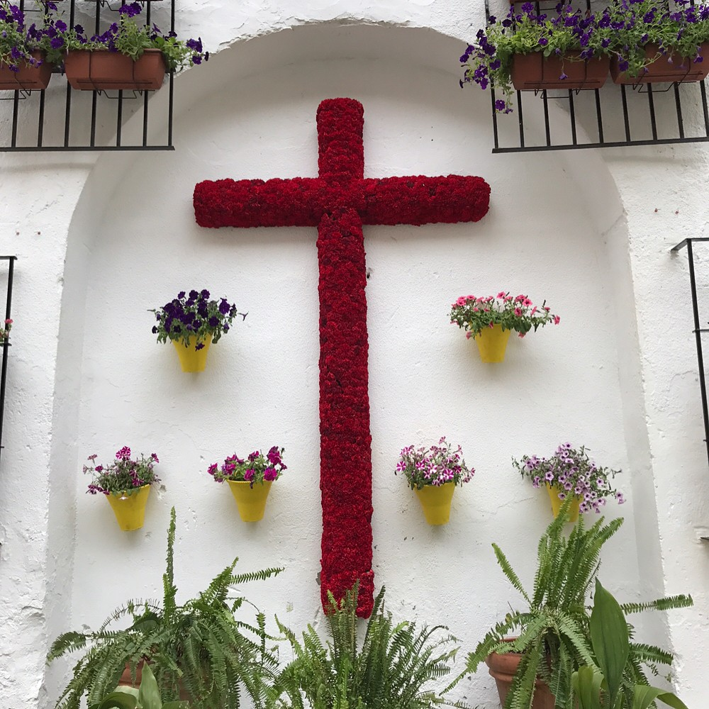 May Crosses - spring festivals in Cordoba, Spain