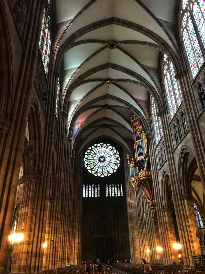 strasbourg cathedral interior 1