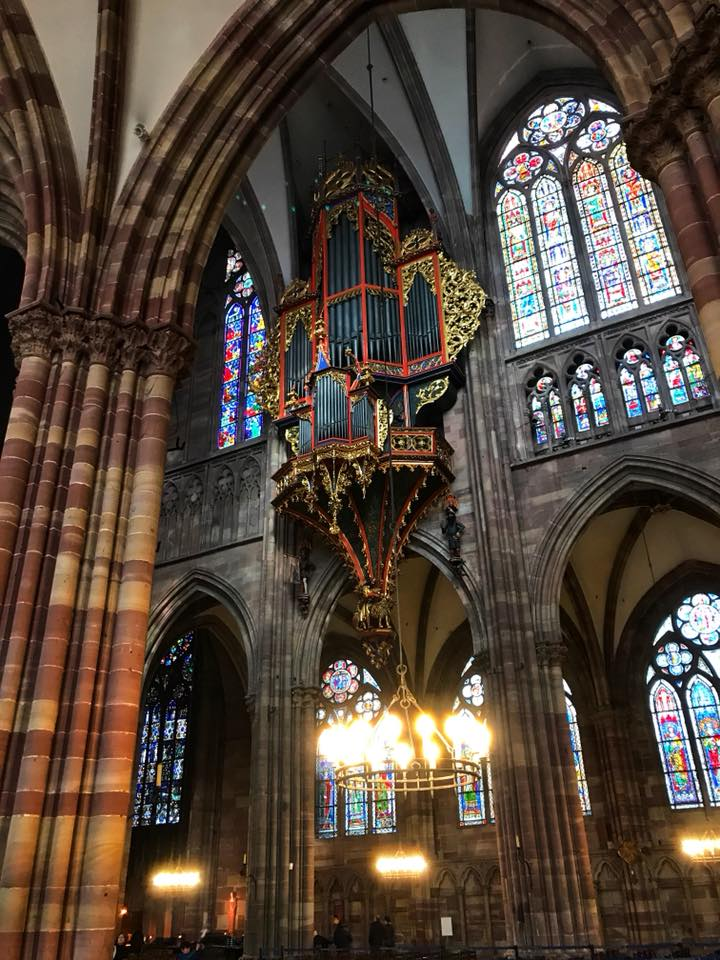 strasbourg cathedral interior 2