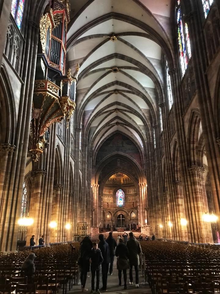 strasbourg cathedral interior 3
