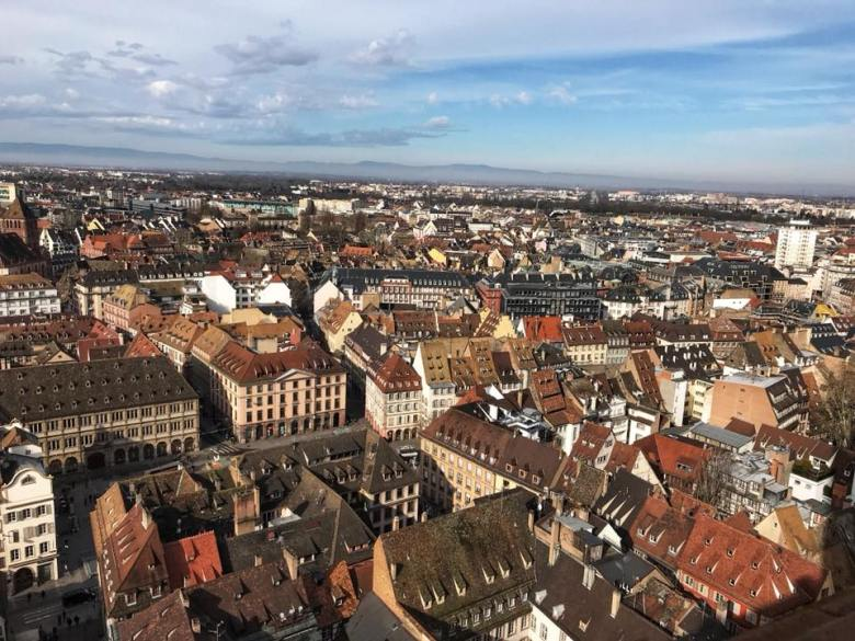 strasbourg cathedral tower views 2