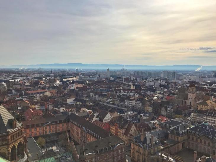 strasbourg cathedral tower views 3