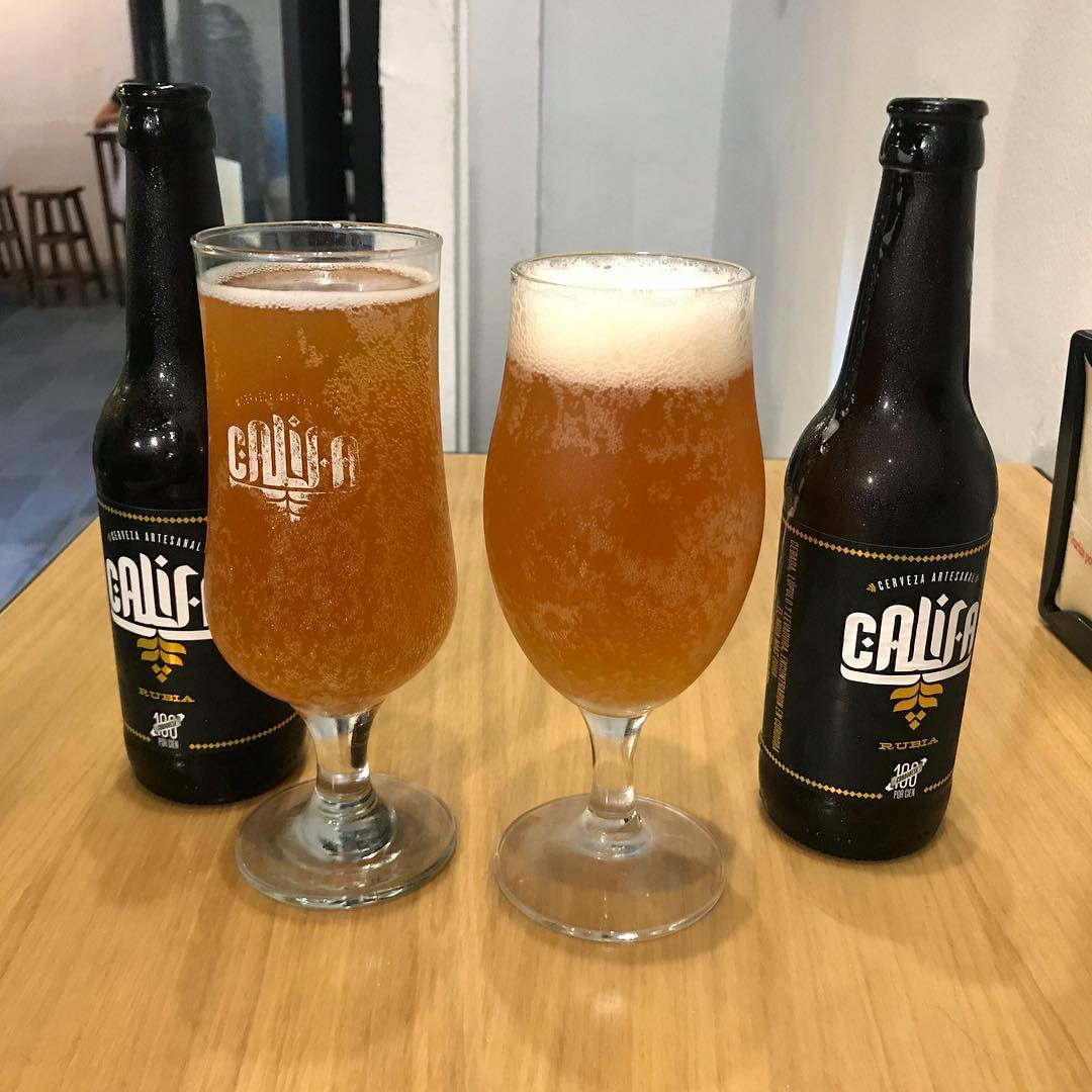 craft beer at Califa - eating in Cordoba, Spain