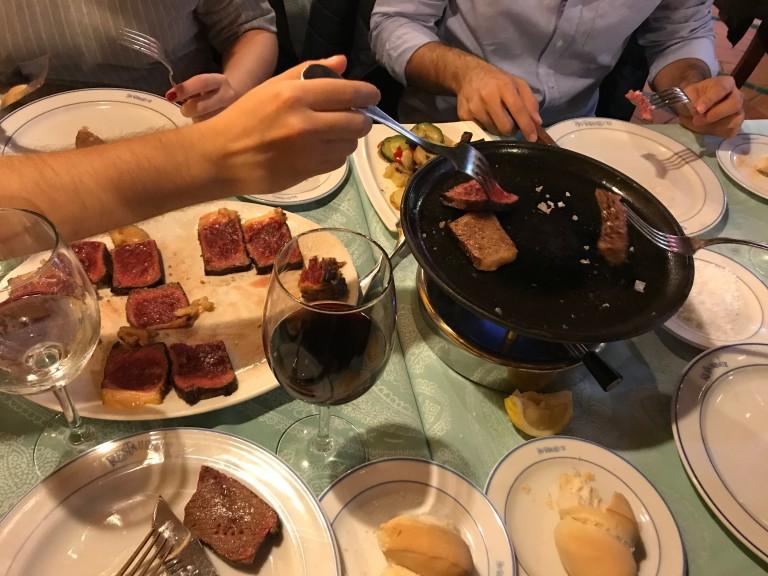 grilling churrasco