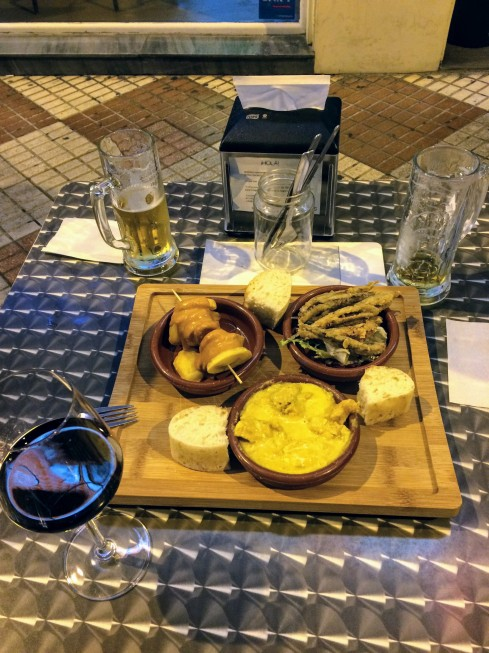 Tapas at Lambik - eating in Cordoba, Spain