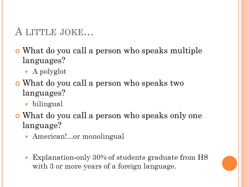 monolingual