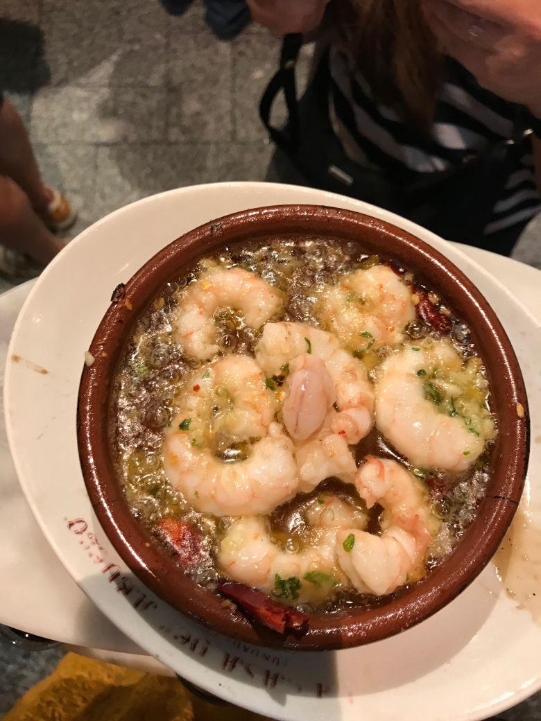 Garlic shrimp VC