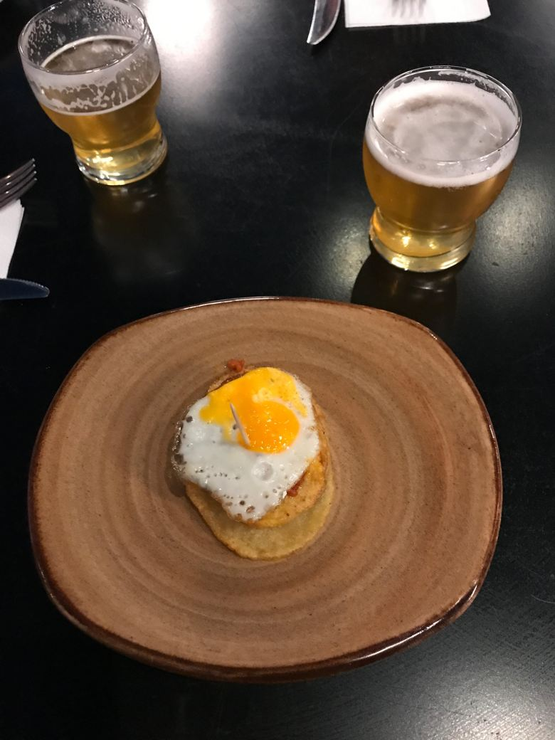 Opalo huevos rotos VC
