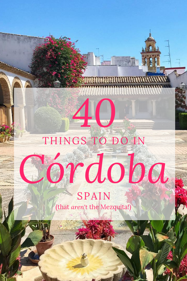 I love the Mezquita as much as anyone, but beautiful Córdoba has so much more to offer. Here are 40 things to do in Cordoba—the most charming city in southern Spainbesides visit the famous mosque!