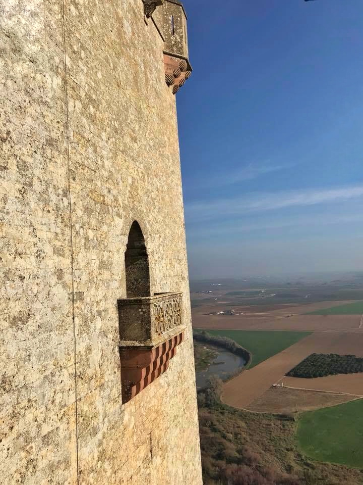 balcony Almodovar Castle