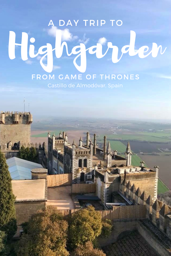 Game of Thrones has filmed at some seriously beautiful destinations in Spain. Take Highgarden, which is actually the Castillo de Almodóvar just outside Córdoba. This magnificent castle will take your breath away!