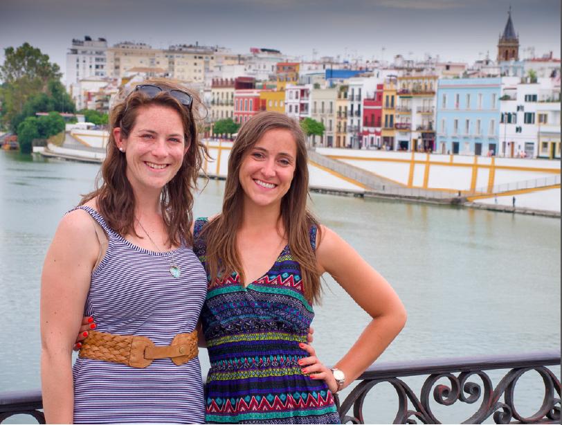 Cat and Hayley, authors of the Pareja de Hecho in Spain eBook