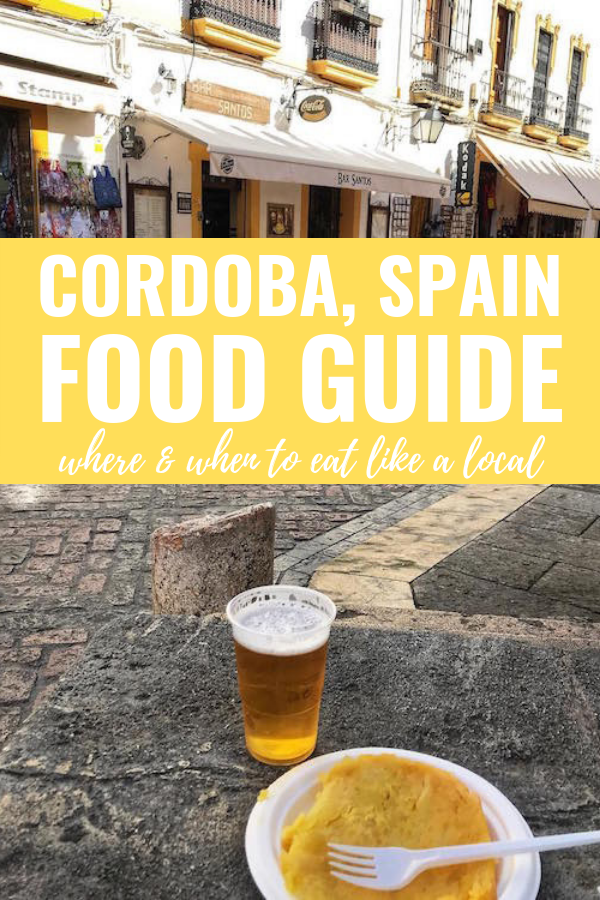 Córdoba, Spain is foodie heaven! Here are some of the best authentic places in the city for everything from breakfast to after-dinner drinks.