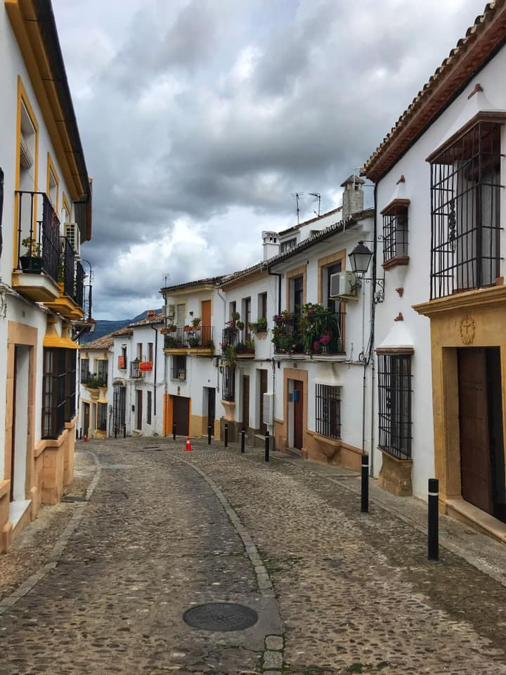 Ronda, one of the prettiest white villages in Andalusia, Spain