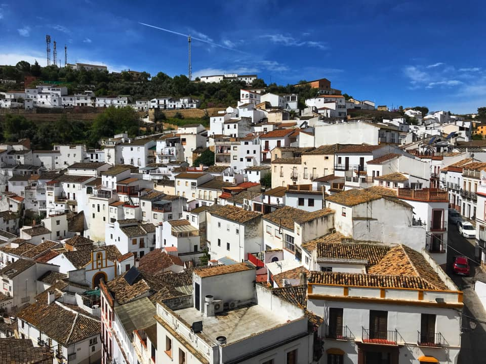 Setenil de las Bodegas is one of the white villages in Andalusia, Spain