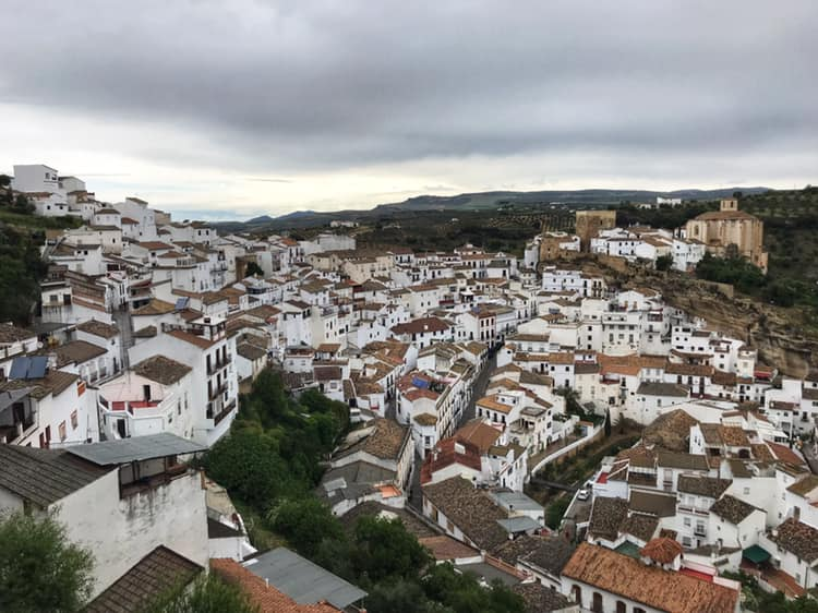 Setenil de las Bodegas is one of the most unique white villages in Andalusia, Spain.